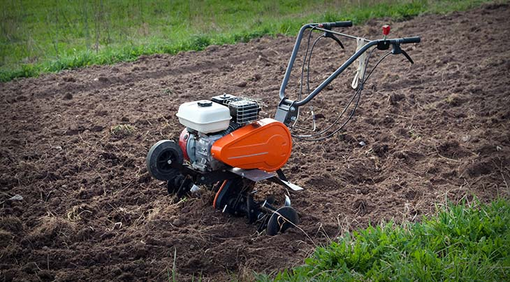 How to Use a Rototiller