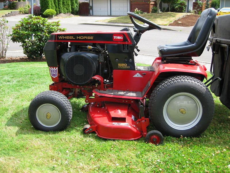 benefits of a garden tractor