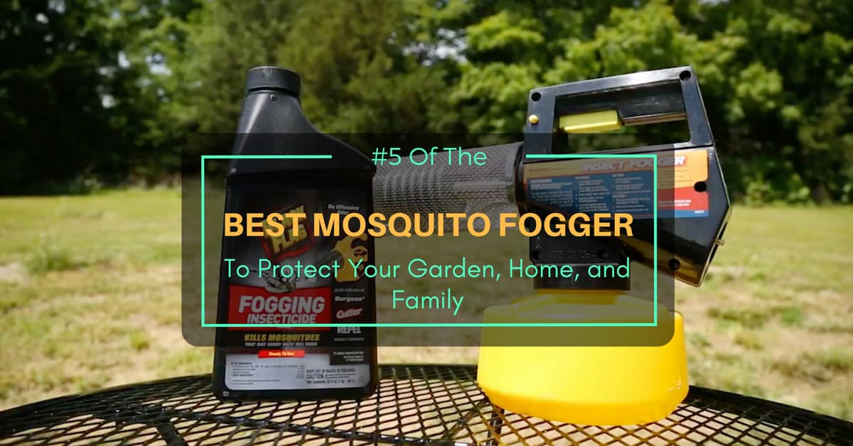 Mosquito Fogger To Protect Your Garden