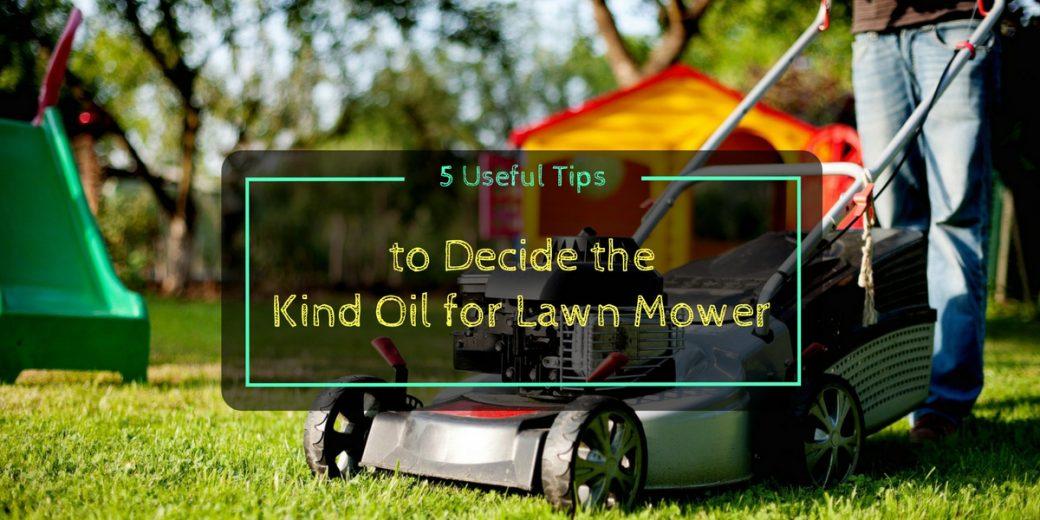type  motor oil  lawn mower impremedianet