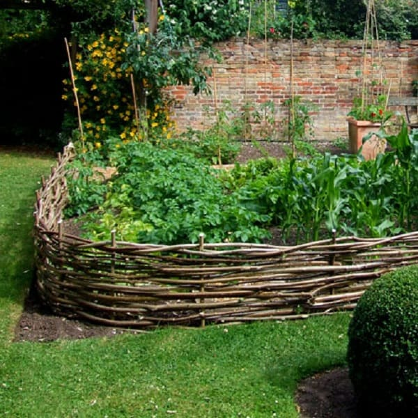 Wattle Raised Beds