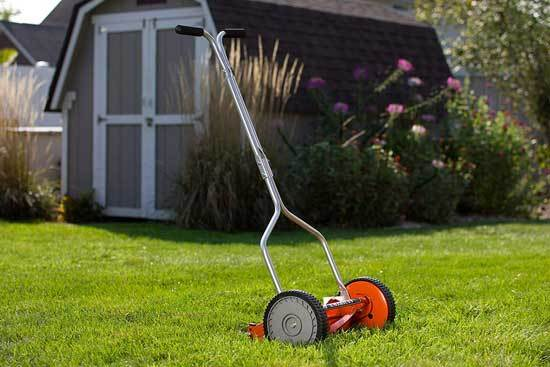 American Lawn Mower Company 1204 14 14 Inch 4 Blade Push Reel Lawn Mower