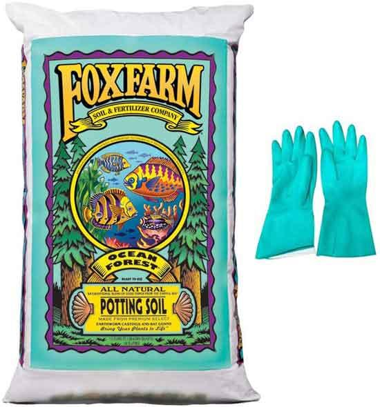FoxFarm Ocean Forest Potting Soil Organic Mix Indoor Outdoor For Garden And Plants