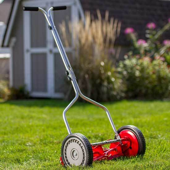 Great States 304 14 14 Inch 5 Blade Push Reel Lawn Mower