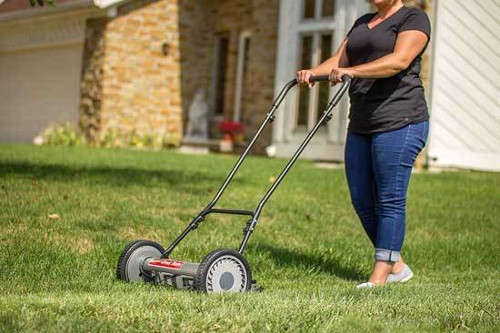 Great States 815 18 18 Inch 5 Blade Push Reel Lawn Mower