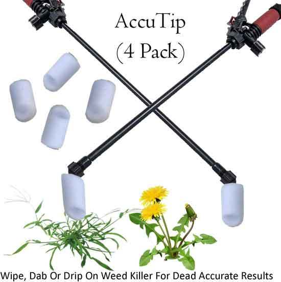 Keyfit Tools AccuTip Weed Killer 4 Pack