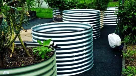 Pipe Garden Beds