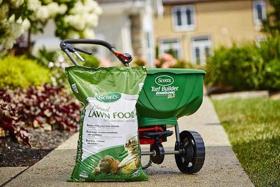 Scotts Natural Lawn Food 4,000 sq