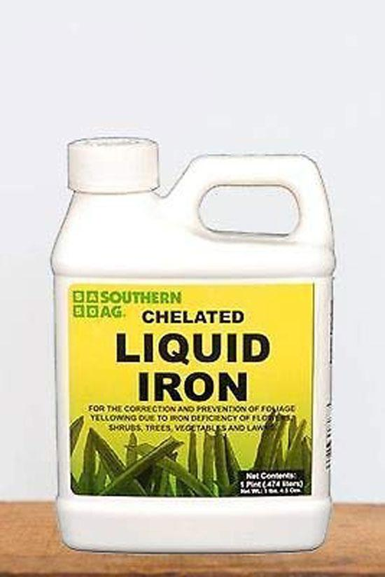 Southern Ag Chelated Liquid Iron 16 OZ