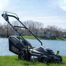 American Lawn Mower Company 50514 14 Inch 11 Amp Corded Electric Lawn Mower Black
