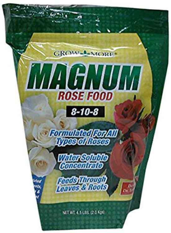 Grow More 13012 Magnum Rose Food 4.5 Pound