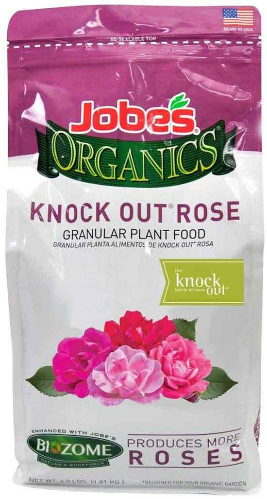 Jobe Organics 9425W Knock Out Rose Organic Fertilizer Brown