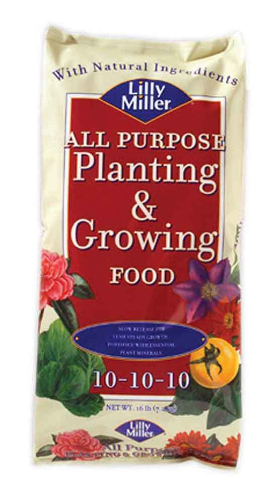 Lilly Miller All Purpose Planting And Growing Food 10 10 10 16lb