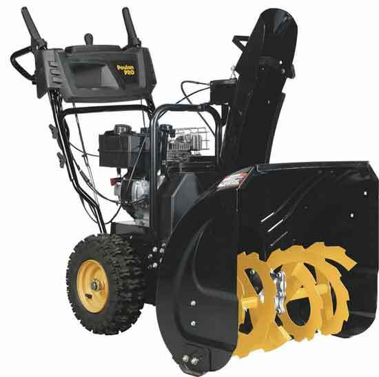 Poulan Pro PR241 24 in. 208cc LCT Two Stage Electric Start Snow Blower