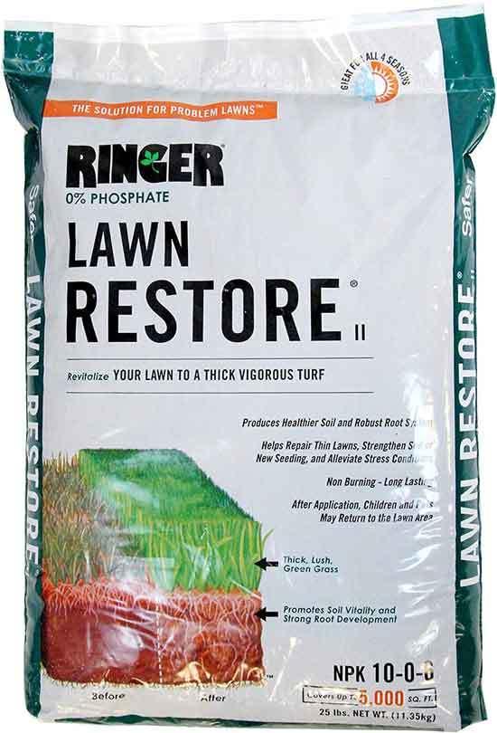 Safer Brand Ringer Lawn Restore 10 0 6 NPK