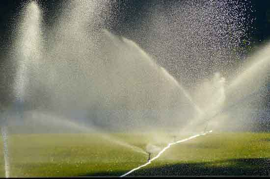 Sprinklers Irrigation