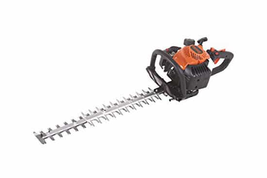Tanaka TCH22EBP2 21cc 2 Cycle Gas Hedge Trimmer with 24 Inch Commercial Double Sided Blades
