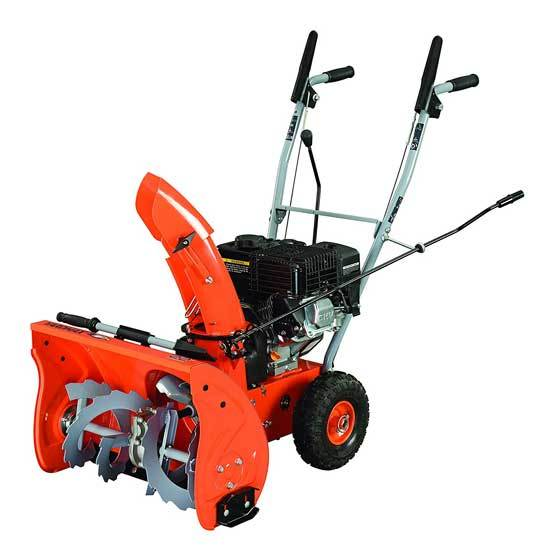YARDMAX YB5765 Two Stage Snow Blower 6.5 hp 196cc 22