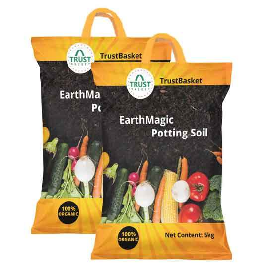 Organic Earth Magic Potting Soil Fertilizer