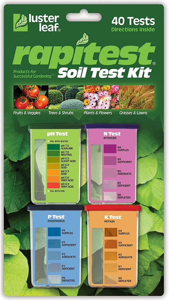 Luster Leaf 1601 Rapitest Test Kit for Soil pH