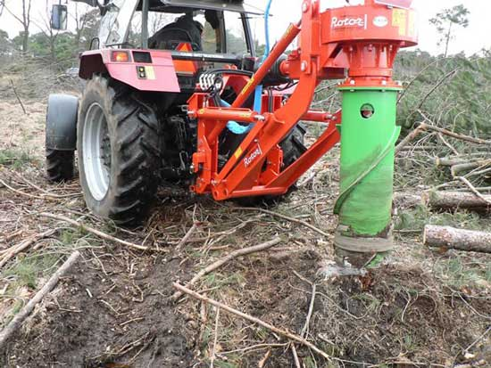 Stump Grinder at works