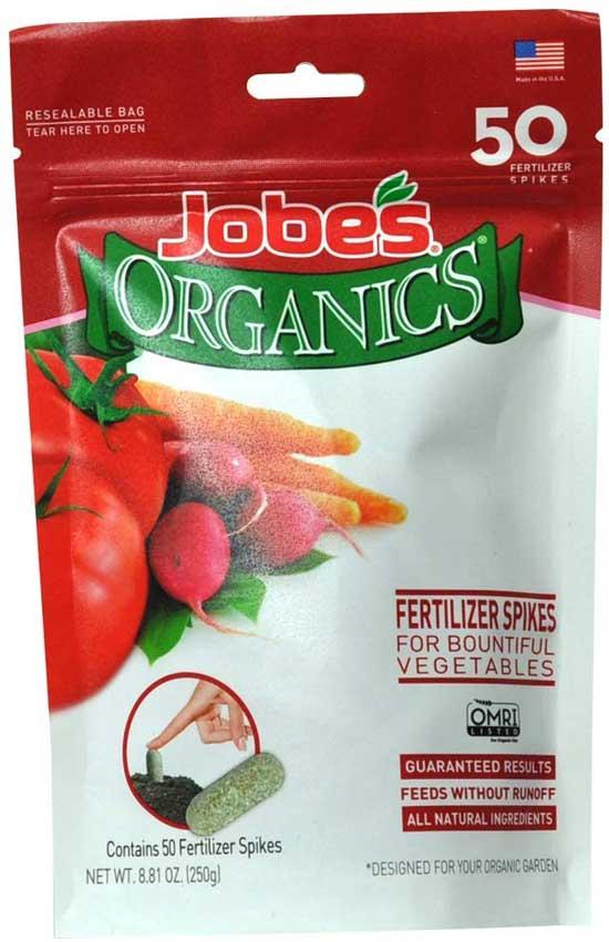 Best Fertilizers for Potatoes Jobe Organics Vegetable Fertilizer Spikes