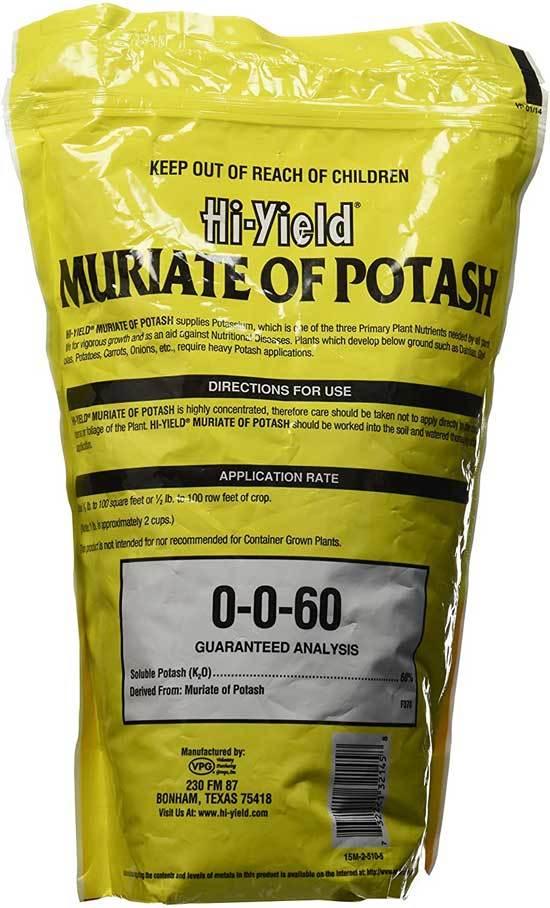 Best Fertilizers for Potatoes Voluntary Purchasing Group Inc. 32145 4 lb. Muriate Potash
