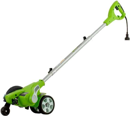 10 Best Edger Reviewed Greenworks 12 Amp Electric Corded Edger 27032