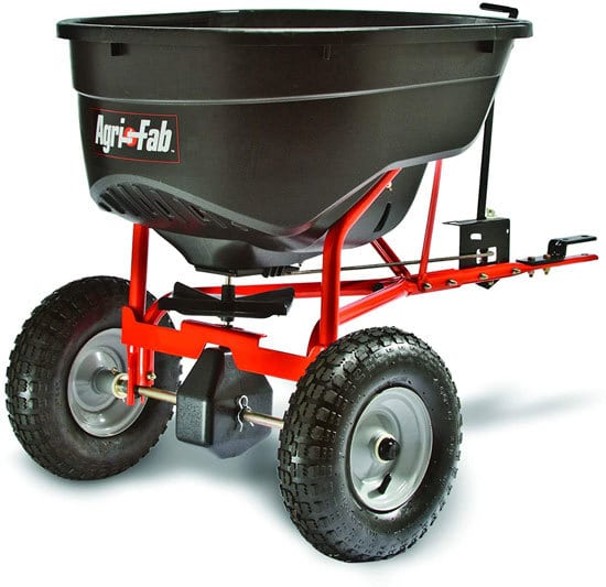 Best Fertilizer Spreader Agri Fab 45 0463 130 Pound Tow Behind Broadcast Spreader
