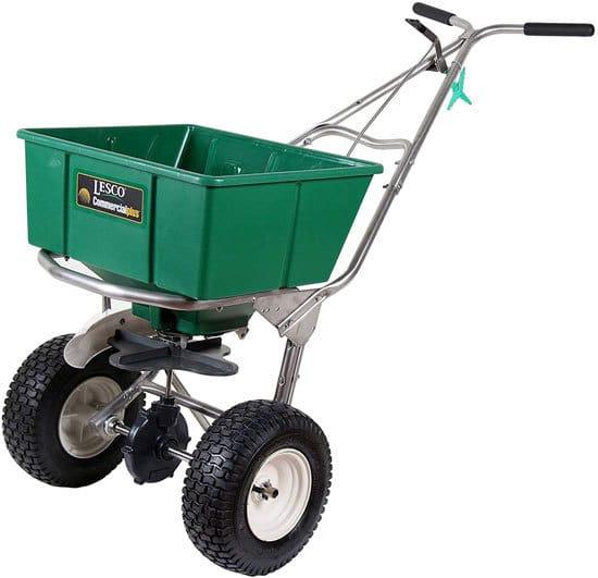 Best Fertilizer Spreader Lesco High Wheel Fertilizer Spreader