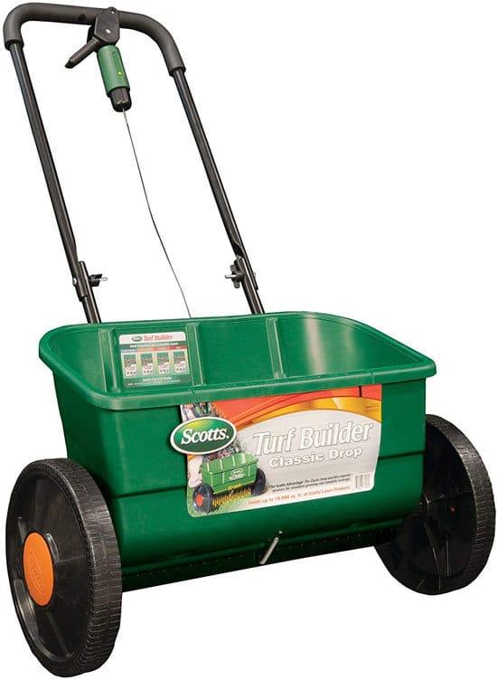Best Fertilizer Spreader Scotts Turf Builder Classic Drop Spreader