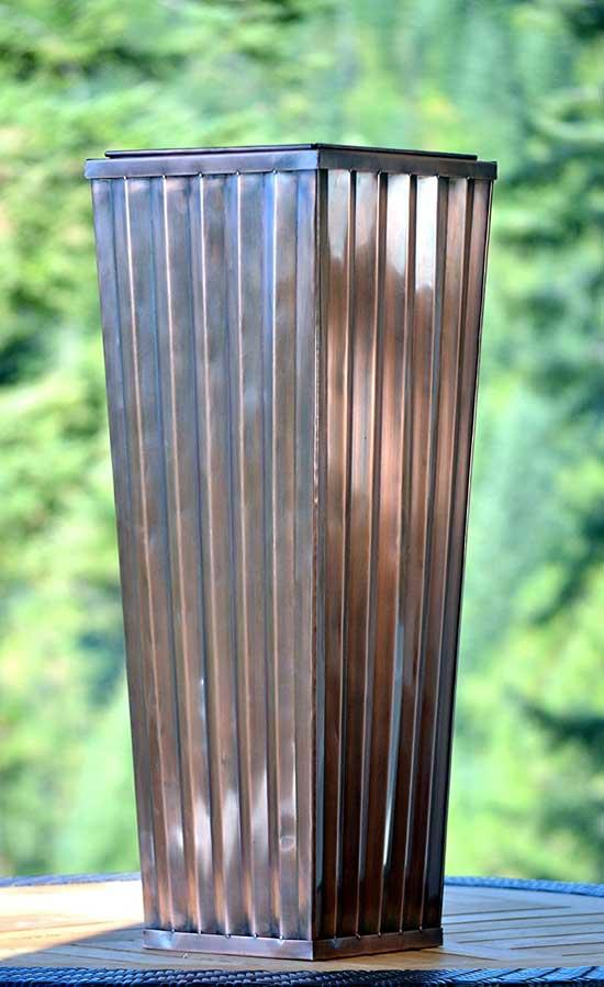 Best Planters H Potter Tall Planter Large Outdoor Copper Antique Flower Pot Review