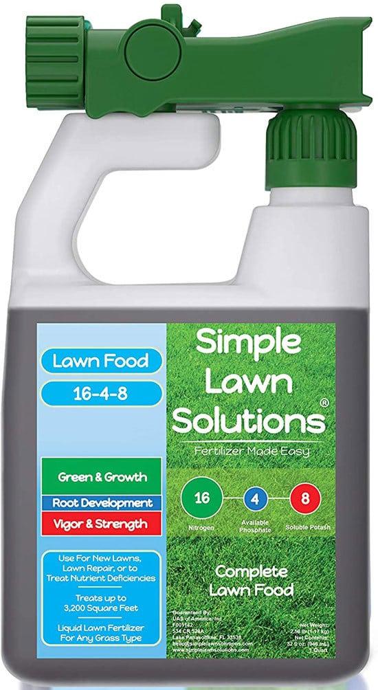 Best Liquid Fertilizers for Pastures Advanced 16 4 8 Balanced NPK Lawn Food Natural Liquid Fertilizer