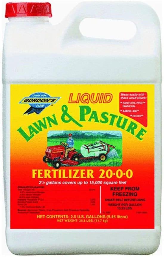 Best Liquid Fertilizers for Pastures PBI Gordon 7471122 Liquid Lawn and Pasture Fertilizer