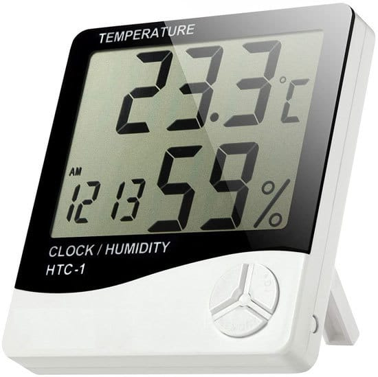 How To Increase Humidity In Grow Tent TopoGrow Digital Humidity Monitor