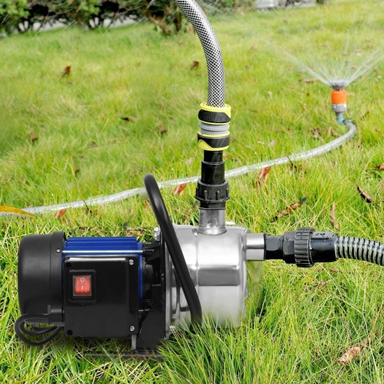 Best Sprinkler Pump 1.6 HP Stainless Steel Lawn Sprinkling Pump 2