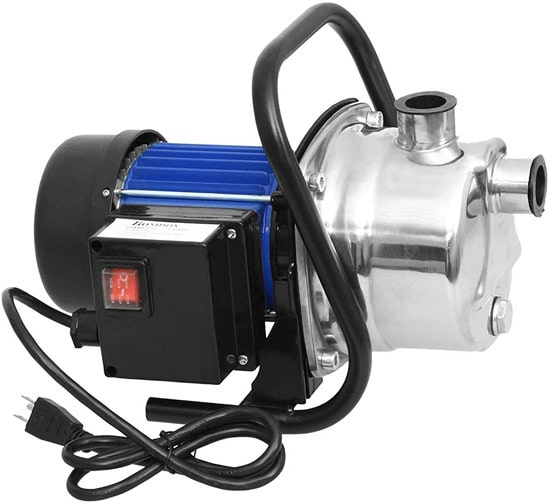 Best Sprinkler Pump 1.6 HP Stainless Steel Lawn Sprinkling Pump