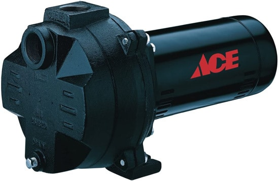 Best Sprinkler Pump ACE CAST IRON 1 1 2 HP Sprinkler Pump