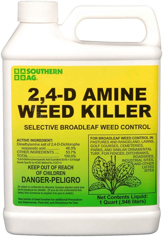Best Weed Killer That Doesnt Kill Grass Southern Ag Amine 24 D Weed Killer