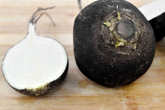 Black Vegetables For Your Garden Black Noir Gros RondDhiver Radish