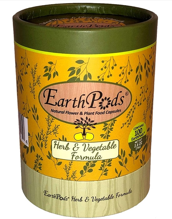 EarthPods Premium Garden Herbs Vegetable Plant Food