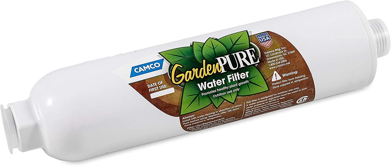 Camco GardenPURE Carbon Water Hose Filter Best 6 Garden Hose Filters