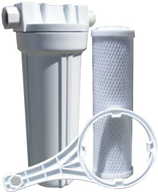 Watts 520021 RV Boat Single Exterior Water Filter with Garden Hose Fittings Best 6 Garden Hose Filters