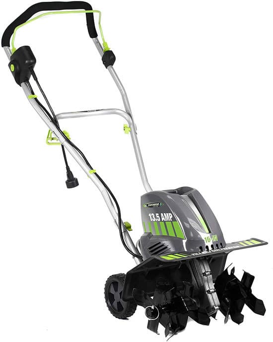 Earthwise TC70016 16 Inch 13.5 Amp Corded Electric Tiller Best Electric Tillers