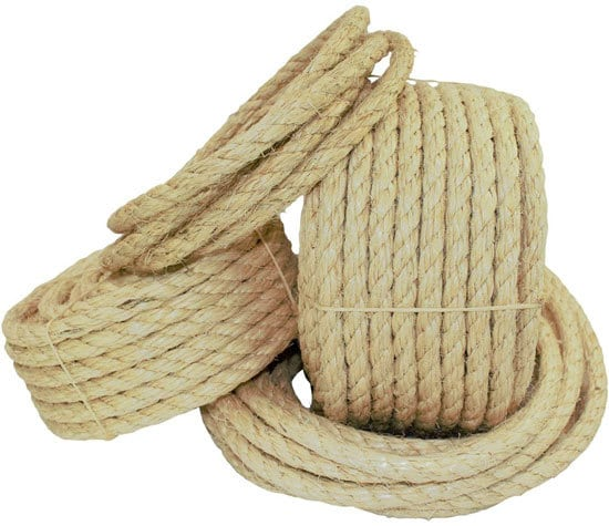 SGT KNOTS Twisted Sisal Rope Best Rope for Tree Swing