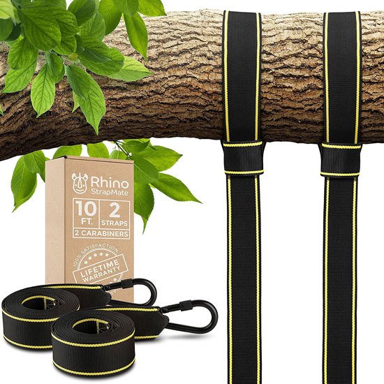 Tree Swing Straps Hanging Kit Best Rope for Tree Swing