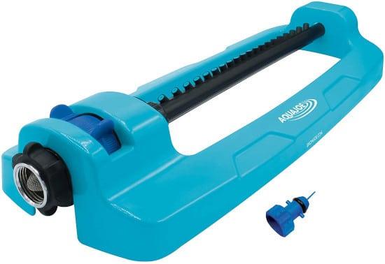 Aqua Joe SJI OMS20 Indestructible 4400 Sq. Ft Coverage Oscillating Sprinkler Best Oscillating Sprinklers