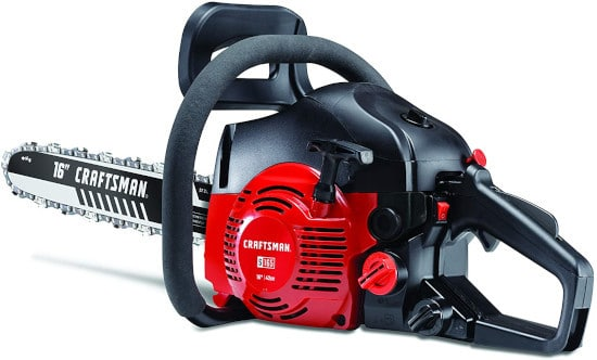Craftsman 41AY4216791 S165 2 Cycle professional Gas Chainsaw Best Professional Chainsaw