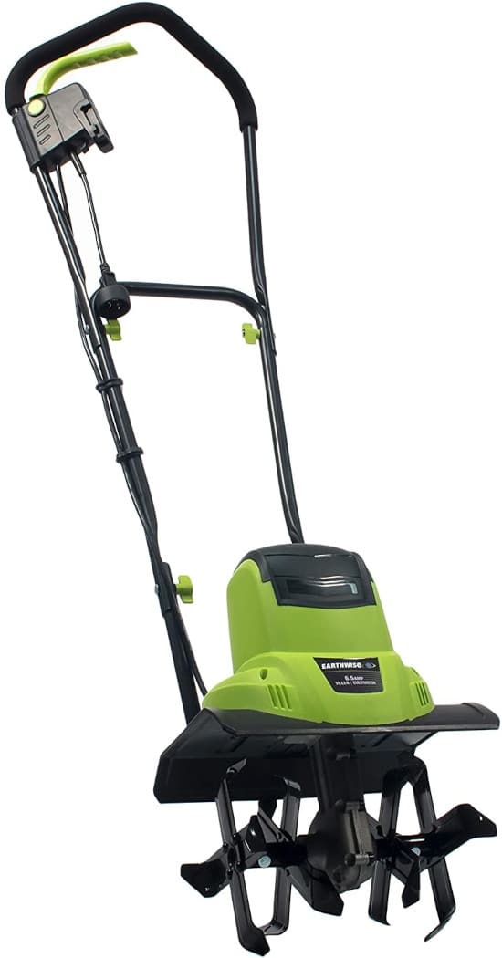 Earthwise TC70065 6.5 Amp Corded Small Electric Tiller Best Small Tiller
