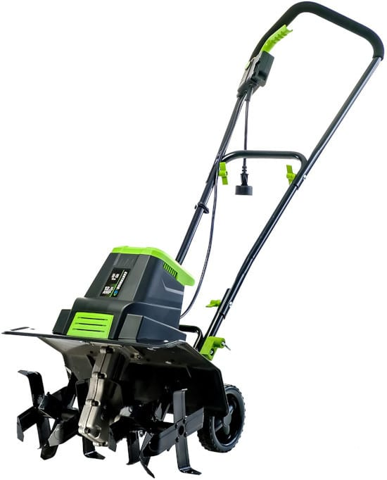 Earthwise TC70125 16 Inch 12.5 Amp Corded Small Electric Tiller Best Small Tiller